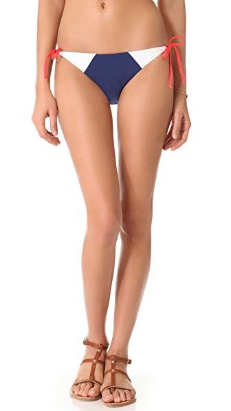 Splendid Sunblock Tie Side Bikini Bottoms