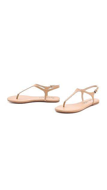 Splendid Mason T Strap Sandals