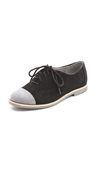 Splendid Sanger Flat Suede Oxfords