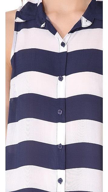 Splendid Magnolia Stripe Top