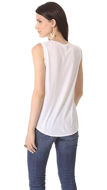 Splendid Pocket Sleeveless Shirt