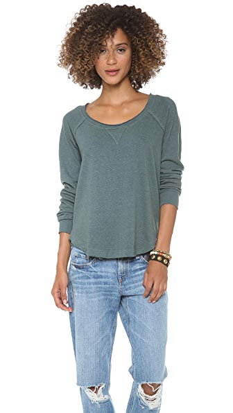 Splendid Melange Pullover