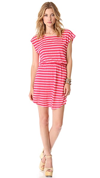 Splendid Striped Mini Dress