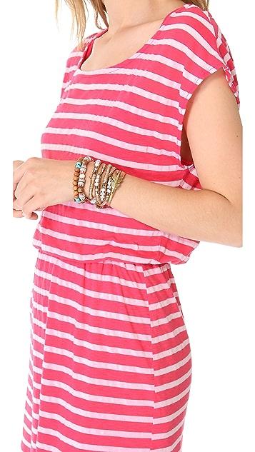 Splendid Striped Mini Dress