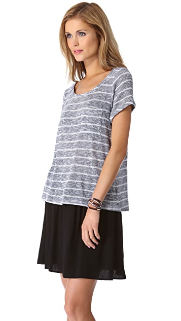 Splendid Caspian Loose Knit Tee