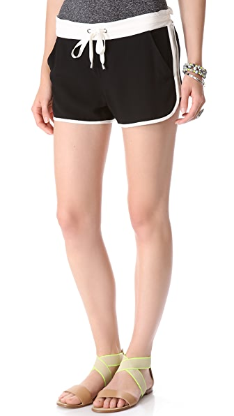 Splendid Colorblock Shorts
