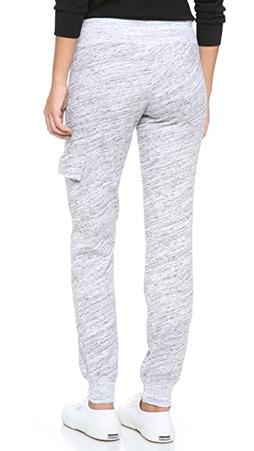 Splendid Space Dyed Cargo Sweatpants
