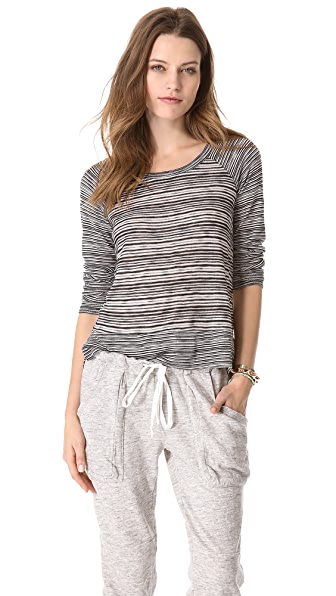Splendid West Village Loose Knit Top