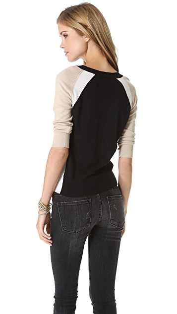 Splendid Parkside Color Block Sweater