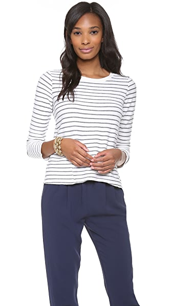 Splendid Lexington Stripe Active Tee with Pockets