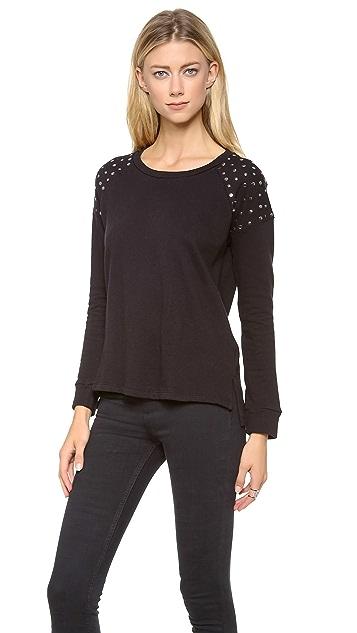 Splendid Embellished City Sweatshirt