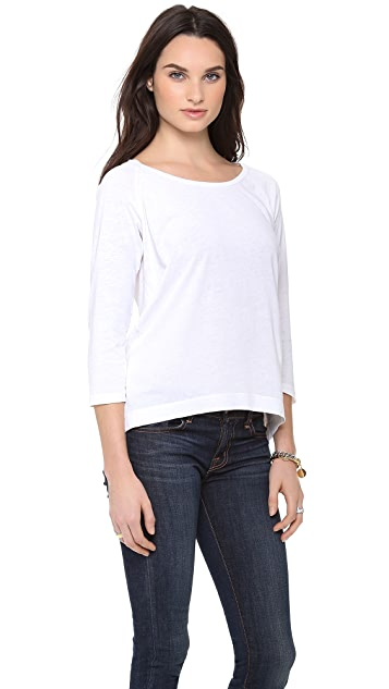 Splendid Vintage Whisper Long Sleeve Tee