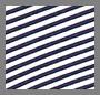 Navy Mini Stripe
