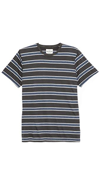 Splendid Short Sleeve Striped Crew T-Shirt