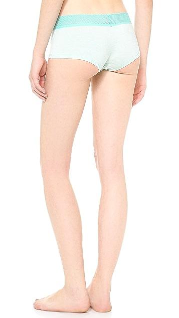 Splendid Mesh Lace Girl Shorts