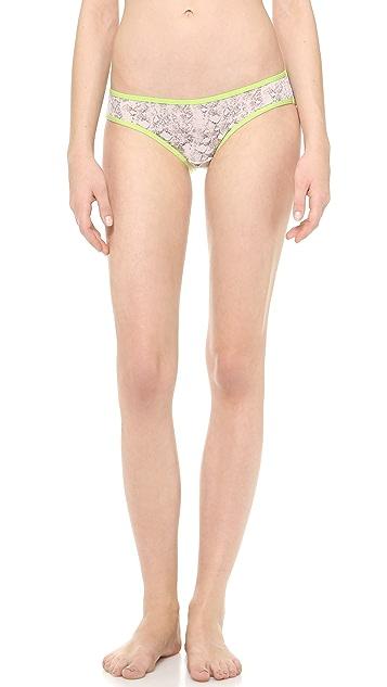 Splendid Ruched Bikini Bottoms