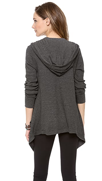 Splendid Thermal Hooded Cardigan | SHOPBOP