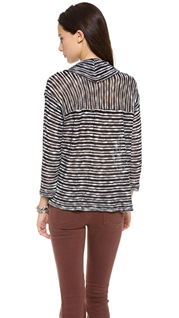 Splendid Fireside Cowl Neck Sweater