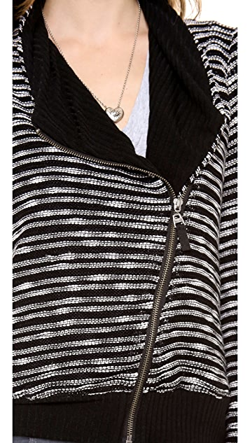 Splendid Fireside Sweater Knit Cardigan