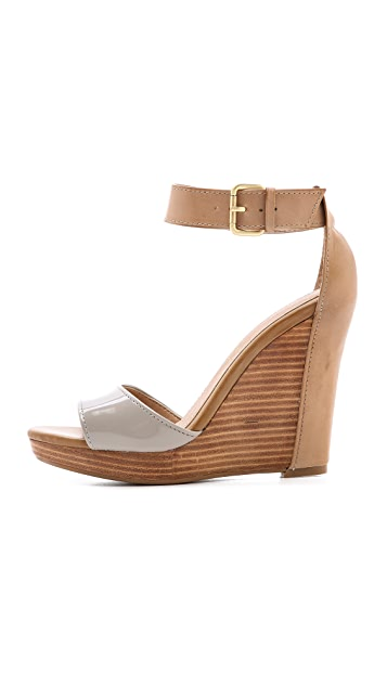 Splendid Berlin Ankle Strap Wedge Sandals