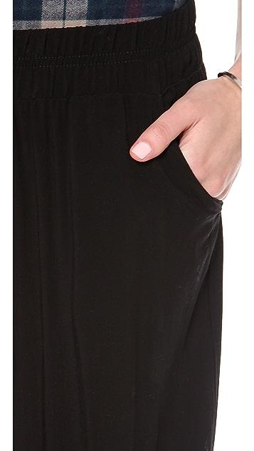 Splendid Pull On Woven Wide Leg Pants