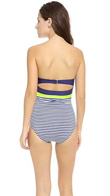 Splendid Malibu Stripe One Piece