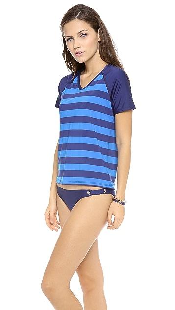 Splendid Marcel Stripe Surf Shirt
