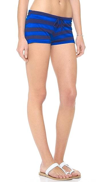 Splendid Marcel Stripe Shorts