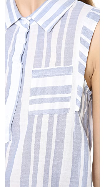 Splendid Oasis Stripe Shirt