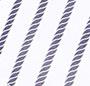 Navy/White Rope Stripe