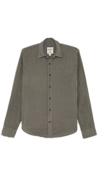 Splendid Long Sleeve Double Cloth Shirt