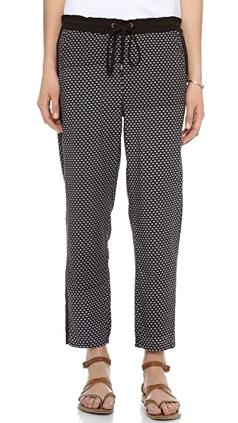 Splendid Harbor Geo Print Pants