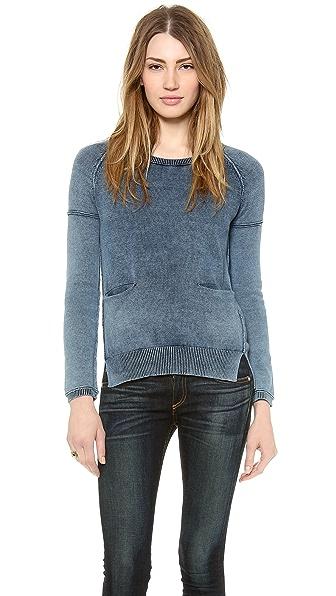Splendid Indigo Dye Sweater