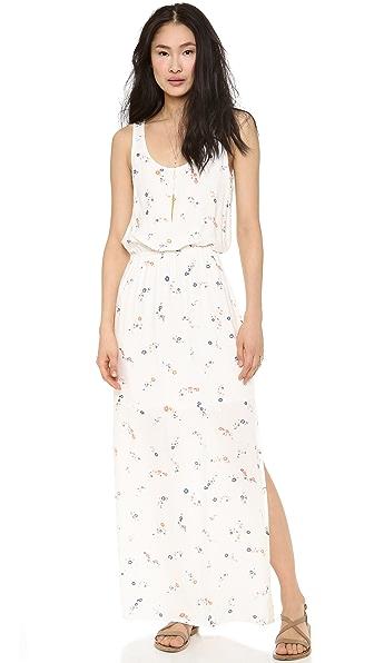 Splendid California Poppies Maxi Dress