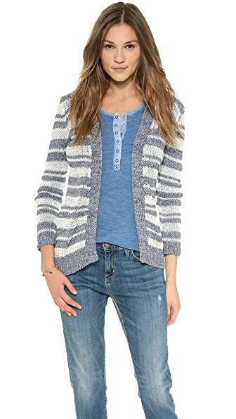 Splendid Catalina Stripe Cardigan