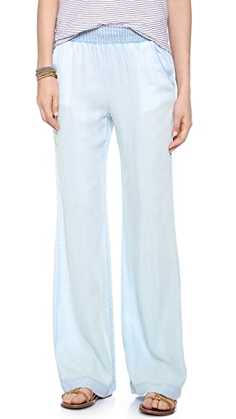 Splendid Chambray Wide Leg Pants | SHOPBOP
