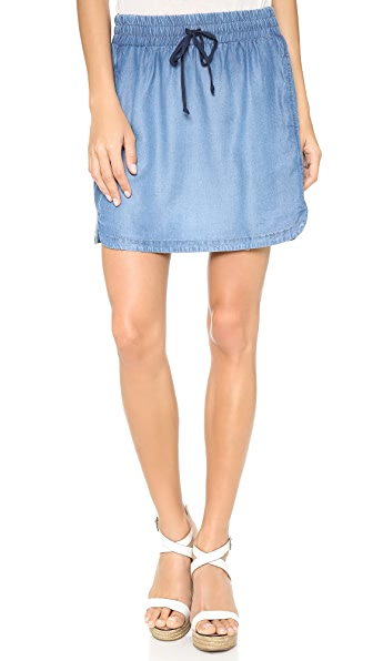 Splendid Chambray Miniskirt