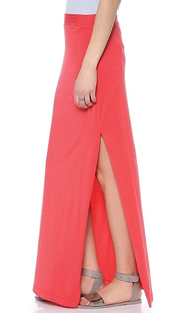 Splendid Maxi Skirt with Slit