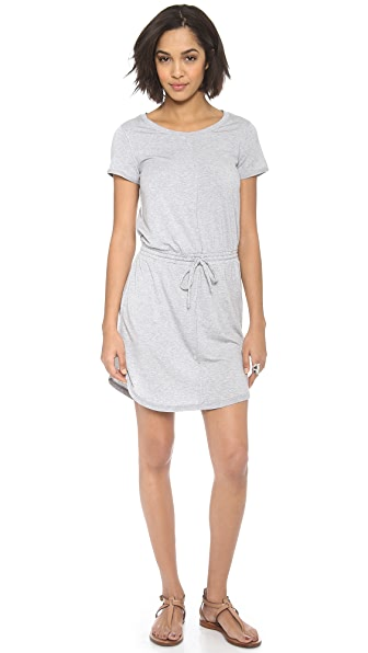 Splendid Drawstring Mini Dress