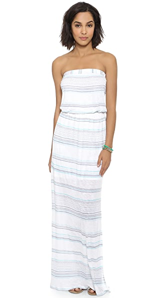 Splendid Safari Stripe Maxi Dress