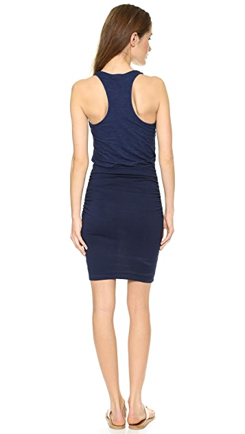 Splendid Indigo Dye Tank Dress