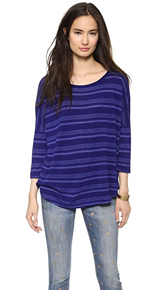 Splendid Blue Ridge Stripe Dolman Tee