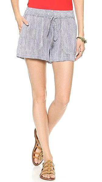 Splendid Pinstripe Shorts