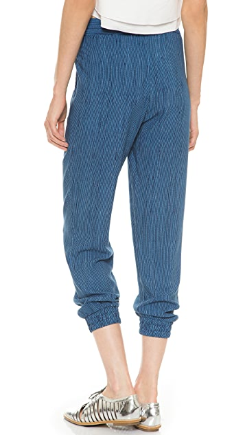 Splendid Pinstripe Jogging Pants
