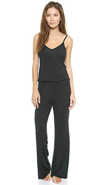 Splendid Long Jumpsuit - Black