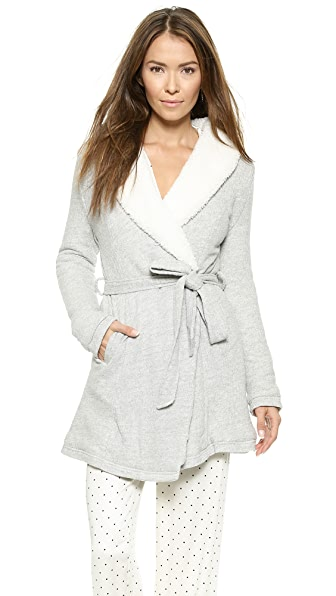 Splendid Sherpa Lined Terry Robe