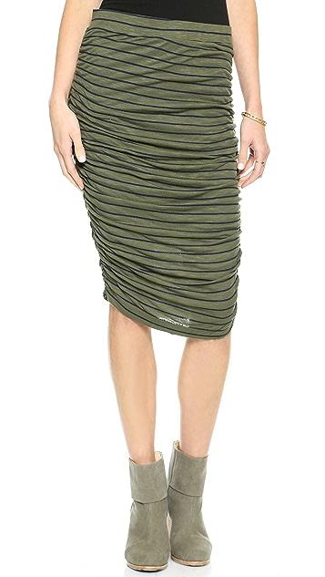 Splendid New Haven Stripe Pencil Skirt
