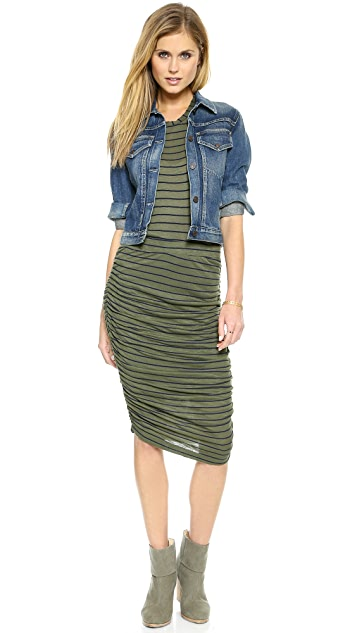 Splendid New Haven Stripe Pencil Skirt