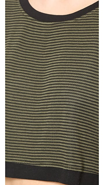 Splendid Mini Stripe Active Pullover