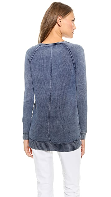 Splendid Indigo Boyfriend Sweater